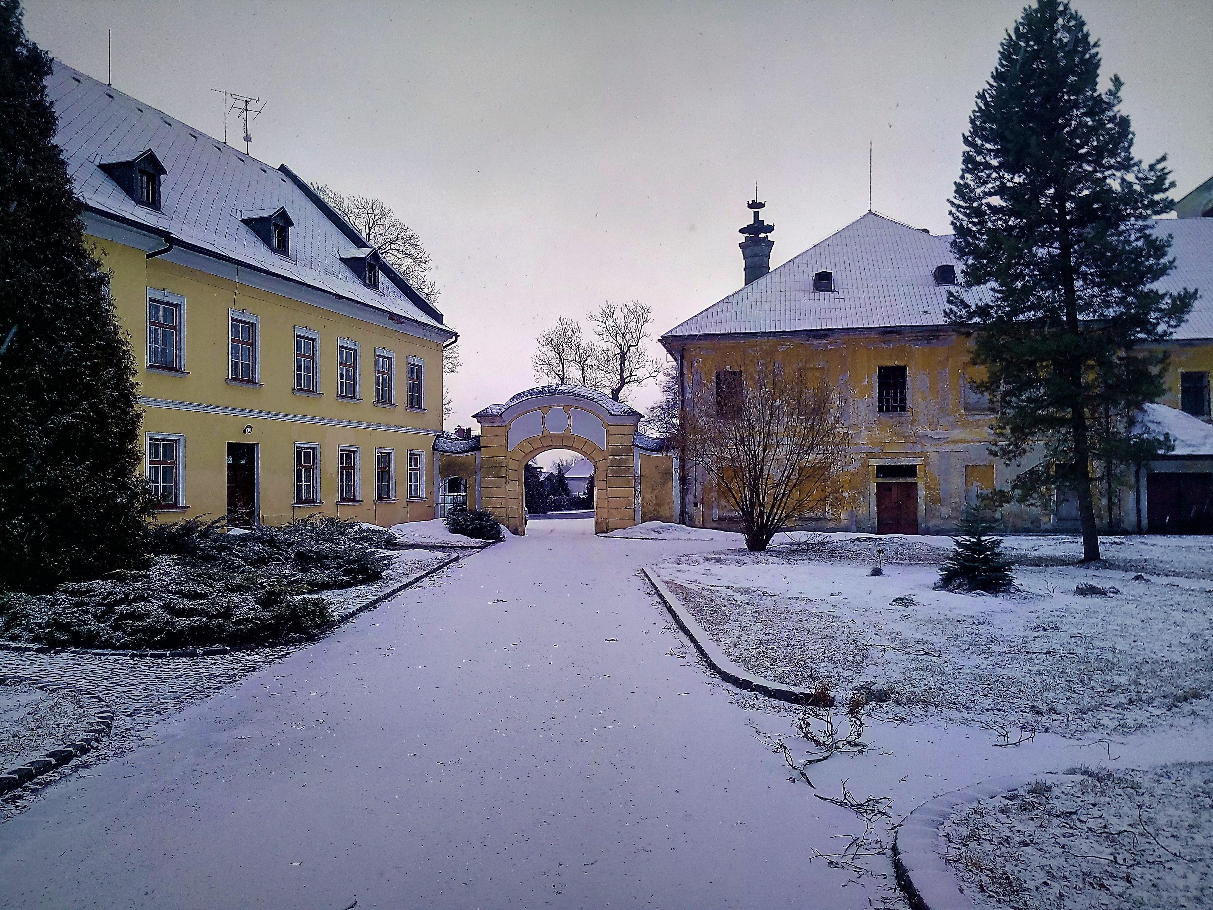 Okolní stavby r. 1801