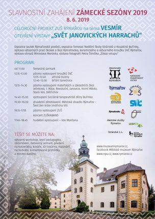Zahájení sezóny na Zámku Janovice